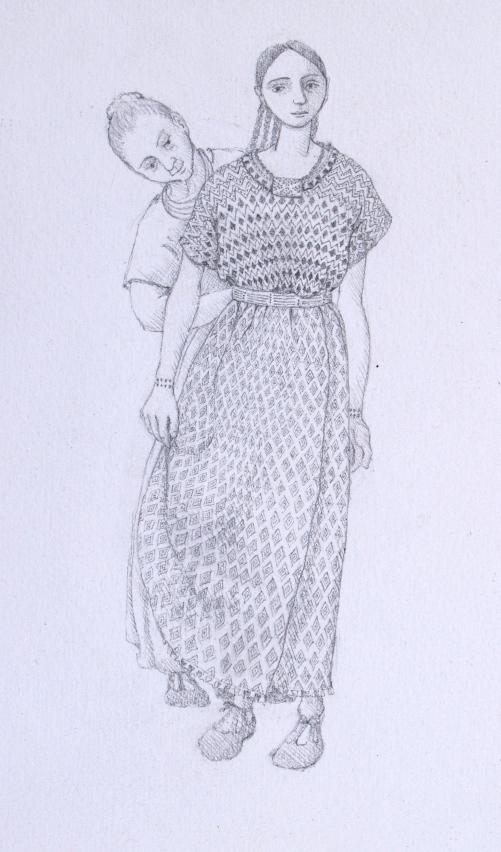 beaker wedding dress